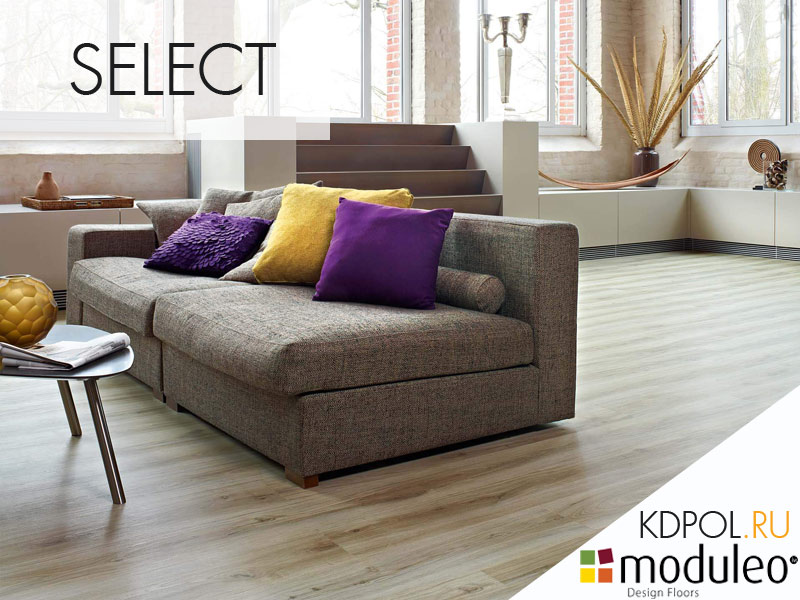 Виниловая плитка дуб Classic Oak 24228 коллекции Select