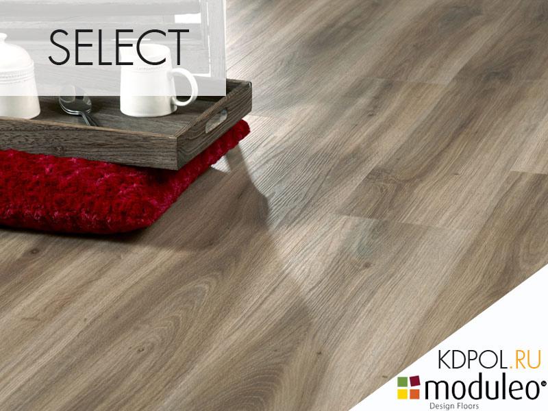 Виниловая плитка дуб Classic Oak 24864 коллекции Select