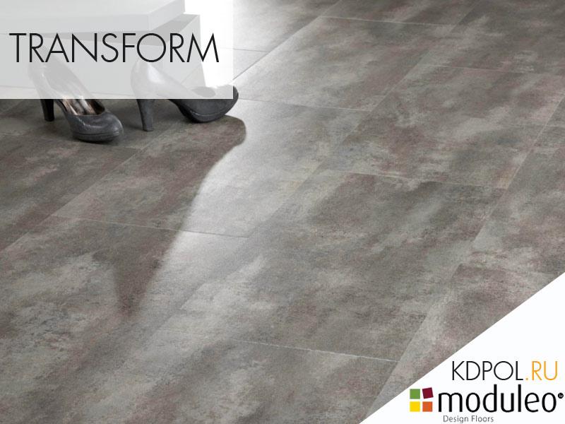 Виниловая плитка Concrete 40286 коллекции Transform
