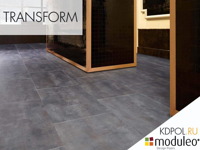 Виниловая плитка Concrete 40876 коллекции Transform