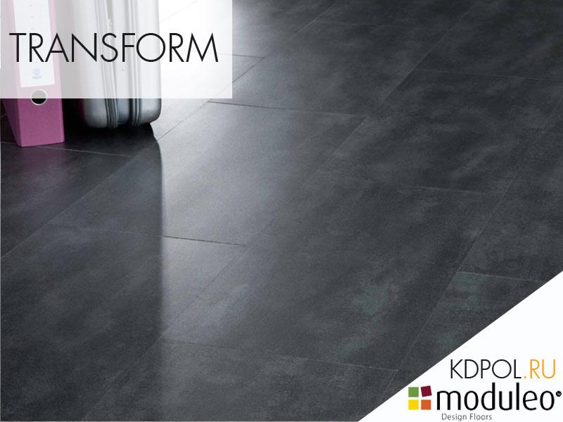 Виниловая плитка Concrete 40986 коллекции Transform