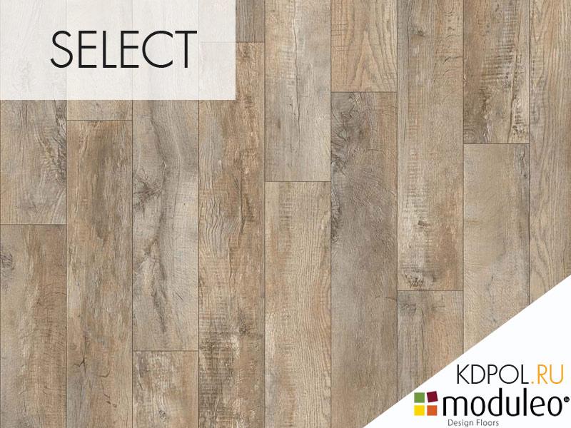 Виниловая плитка дуб Country Oak 24918 коллекции Select