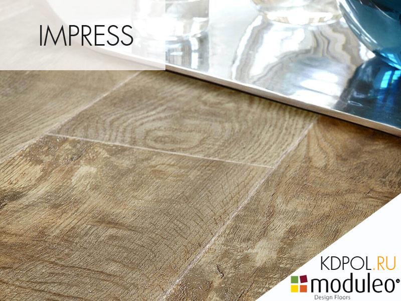 Виниловая плитка Country Oak 54852 коллекции Impress