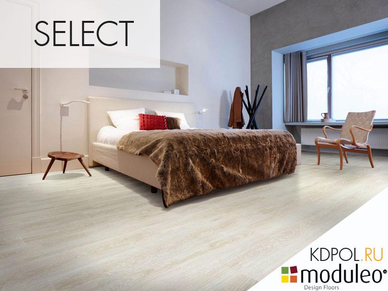 Виниловая плитка Дуб Midland Oak 22110 коллекции Select