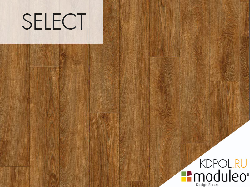 Виниловая плитка дуб Midland Oak 22821 коллекции Select