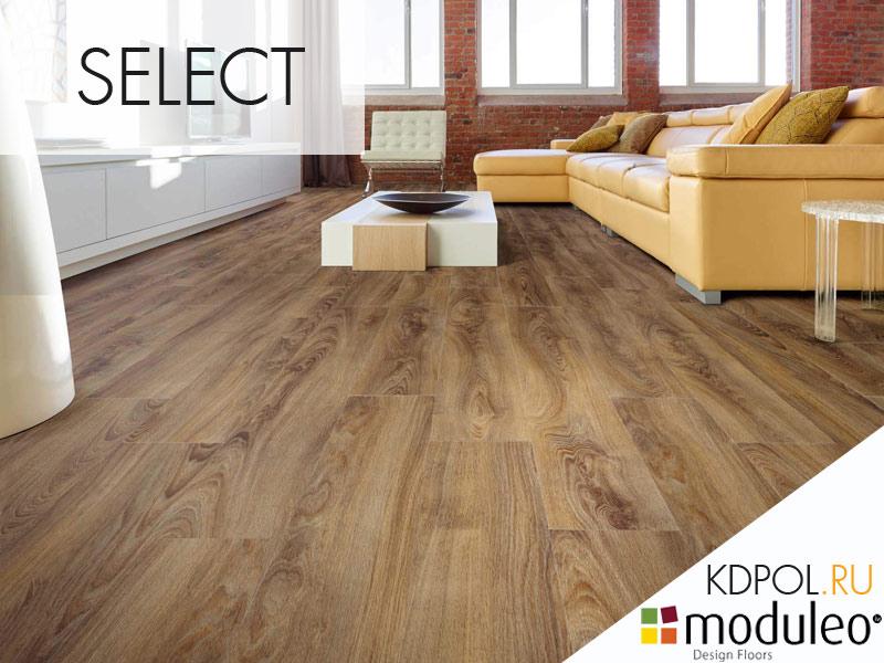Виниловая плитка дуб Midland Oak 22863 коллекции Select