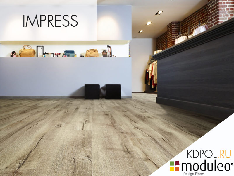 Виниловая плитка Mountain Oak 56230 коллекции Impress