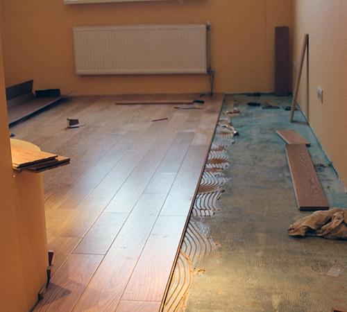 Ремонт бетонного пола в квартире