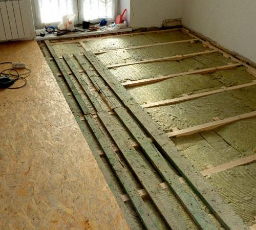 Способы ремонта пола в квартире